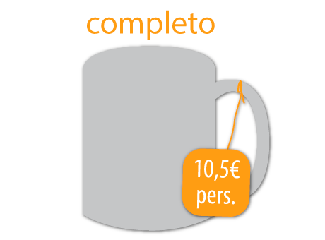icono servicio de coffee break completo
