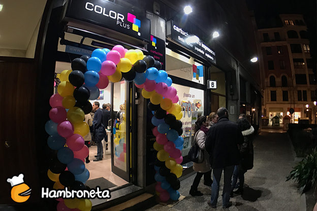 INAUGURACION COLOR PLUS HAMBRONETA