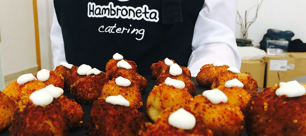 mini croquetas de jamon