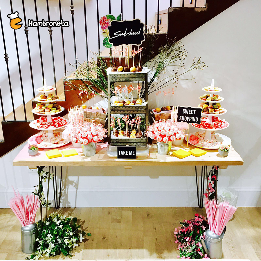 inaguracion candy bar subdued bilbao hambroneta catering