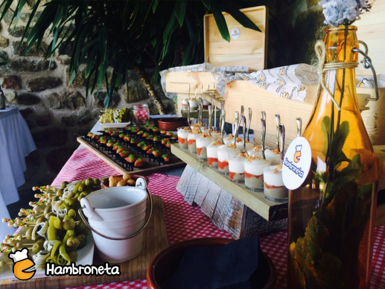 snacks catering hambroneta boda general
