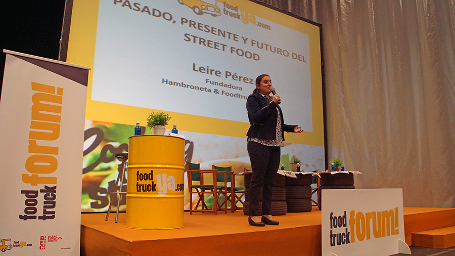 leire perez food truck forum 2017 conferencia